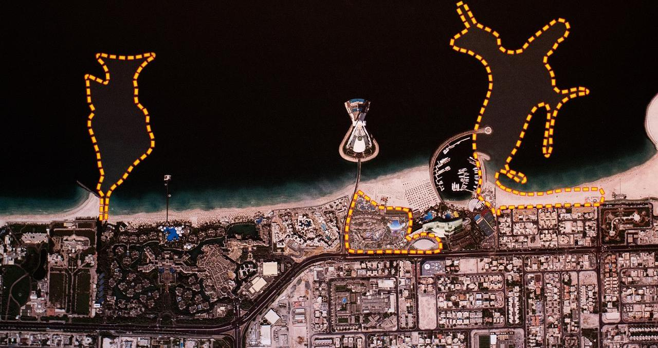 TERKUAK, BEGINI KEMEGAHAN PROYEK REKLAMASI MARSA AL ARAB DUBAI