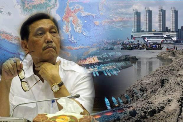 Menko Luhut: Syarat Dipenuhi, Tak Ada Alasan Hentikan Reklamasi Jakarta