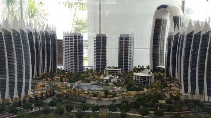 Wajah 10 Kota Dunia 'Muncul' di Teluk Jakarta