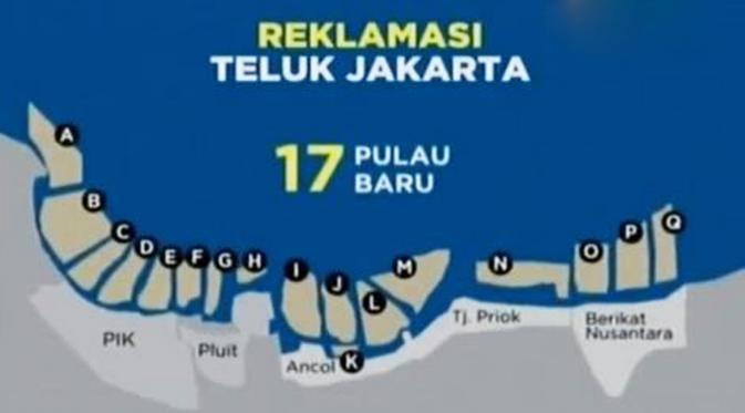 Menko Maritim Resmi Cabut Moratorium 17 Pulau Reklamasi Teluk Jakarta