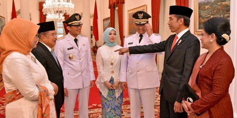Bahas Reklamasi Teluk Jakarta, Anies-Sandi Siap Penuhi Panggilan Presiden Jokowi