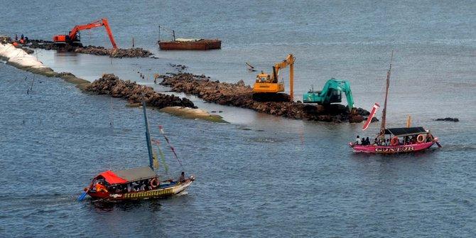 Pemerintah Kaji Pulau 'A' Reklamasi untuk Kampung Nelayan