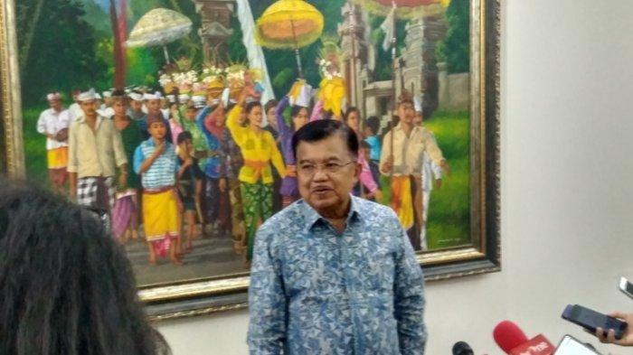 Wapres JK Sarankan Gubernur Anies Baswedan Teruskan Reklamasi