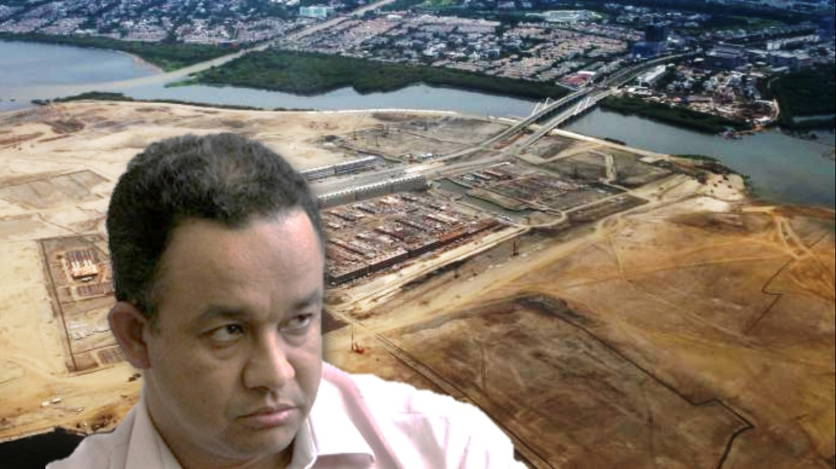 Manfaatkan Pulau Hasil Reklamasi, Anies Bakal Bangun Stadion Voli Bertaraf Internasional