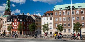 Sepeda merupakan alat transportasi yang digunakan penduduk Kopenhagen, Denmark sehari-hari.(SHUTTERSTOCK)