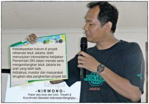 Foto: Nirwono - Pakar tata kota dari Universitas Trisakti dan Koordinator Gerakan Indonesia Menghijau (Peta Hijau).