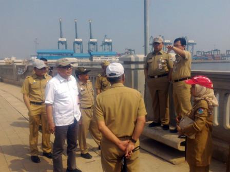 Badan Pengelola Pantura Tinjau Sejumlah Proyek di Kawasan Pesisir Pantai Utara Jakarta