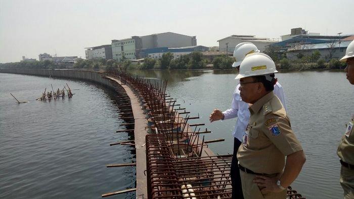 Progres Pembangunan Tanggul NCICD di Marunda Capai 63 Persen