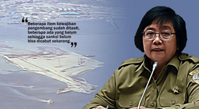 Akui Ditemui Anies, Menteri LHK Minta Ditata Ulang Pemanfaatan Pulau Reklamasi