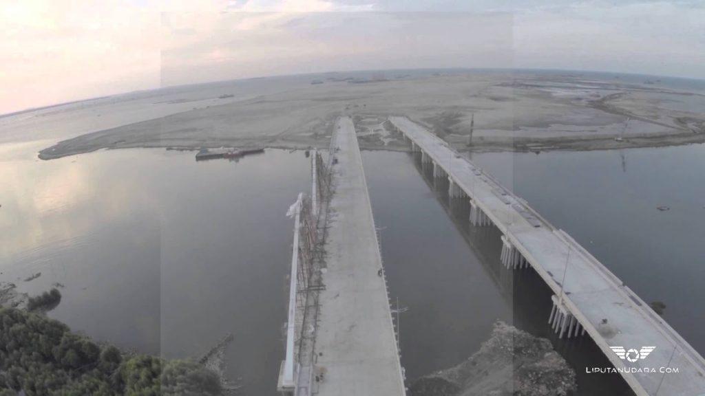 Bangun Jembatan Pulau, IMB dan Rekomendasi Teknis Diterbitkan