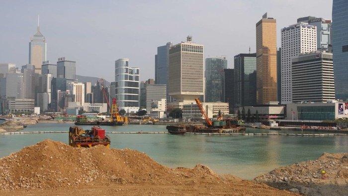 Hong Kong Bangun Pulau Reklamasi sebagai Tempat Tinggal