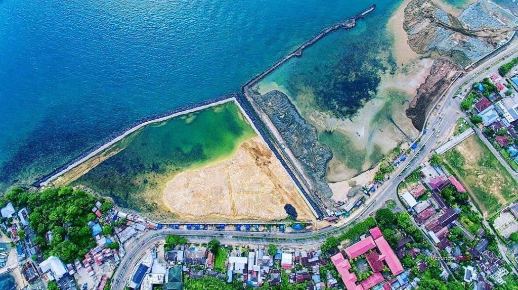 Reklamasi Pantai Sorong jadi Lokasi Favorit Warga dan Wisatawan