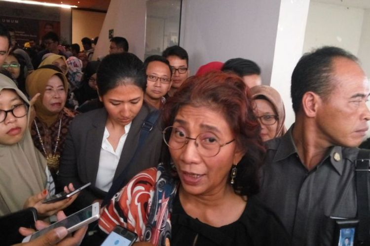 Menteri Susi Sebut Kelanjutan Reklamasi Teluk Jakarta Ada di Tangan Luhut dan Anies